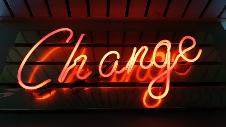 Change - Photo by Ross Findon on Unsplash